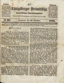 Königsberger Freimüthige Jg 6 nr 26 (29 November1845)