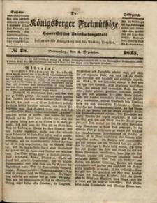 Königsberger Freimüthige Jg 6 nr 28 (4 December1845)