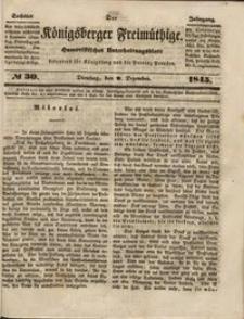 Königsberger Freimüthige Jg 6 nr 30 (9 December1845)