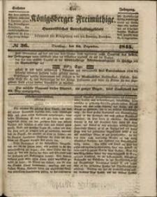 Königsberger Freimüthige Jg 6 nr 36 (23 December1845)