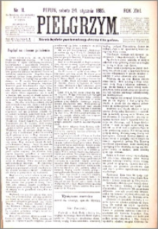 Pielgrzym, pismo religijne dla ludu 1885 nr 11