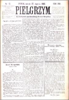 Pielgrzym, pismo religijne dla ludu 1885 nr 12