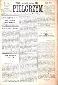 Pielgrzym, pismo religijne dla ludu 1885 nr 14