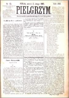 Pielgrzym, pismo religijne dla ludu 1885 nr 15