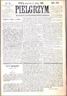 Pielgrzym, pismo religijne dla ludu 1885 nr 16