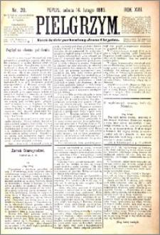 Pielgrzym, pismo religijne dla ludu 1885 nr 20