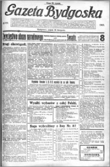Gazeta Bydgoska 1922.11.10 R.1 nr 111
