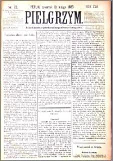 Pielgrzym, pismo religijne dla ludu 1885 nr 22