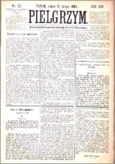 Pielgrzym, pismo religijne dla ludu 1885 nr 23