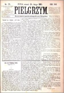 Pielgrzym, pismo religijne dla ludu 1885 nr 24