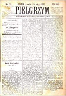 Pielgrzym, pismo religijne dla ludu 1885 nr 25