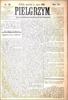 Pielgrzym, pismo religijne dla ludu 1885 nr 28