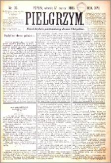 Pielgrzym, pismo religijne dla ludu 1885 nr 33