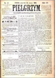 Pielgrzym, pismo religijne dla ludu 1885 nr 37