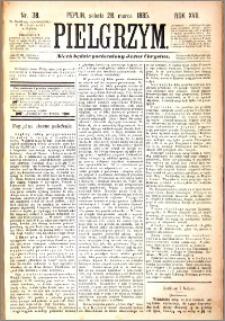 Pielgrzym, pismo religijne dla ludu 1885 nr 38
