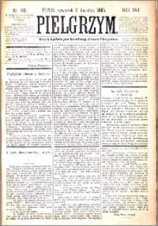 Pielgrzym, pismo religijne dla ludu 1885 nr 40