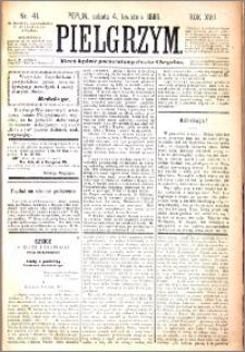 Pielgrzym, pismo religijne dla ludu 1885 nr 41