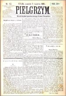 Pielgrzym, pismo religijne dla ludu 1885 nr 42