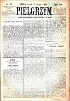 Pielgrzym, pismo religijne dla ludu 1885 nr 44