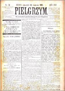 Pielgrzym, pismo religijne dla ludu 1885 nr 51