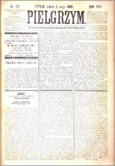 Pielgrzym, pismo religijne dla ludu 1885 nr 52