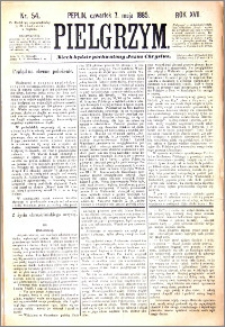 Pielgrzym, pismo religijne dla ludu 1885 nr 54