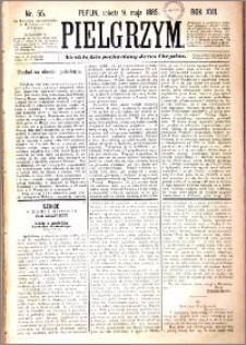 Pielgrzym, pismo religijne dla ludu 1885 nr 55