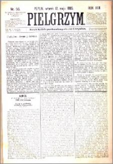 Pielgrzym, pismo religijne dla ludu 1885 nr 56