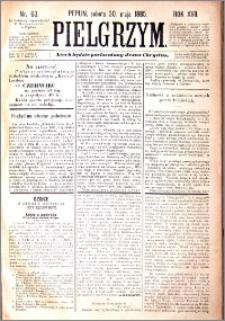 Pielgrzym, pismo religijne dla ludu 1885 nr 63