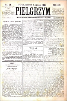 Pielgrzym, pismo religijne dla ludu 1885 nr 68