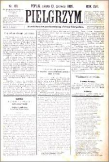 Pielgrzym, pismo religijne dla ludu 1885 nr 69