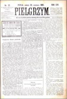 Pielgrzym, pismo religijne dla ludu 1885 nr 72