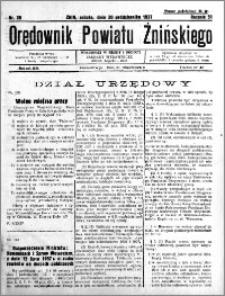 Orędownik Powiatu Żnińskiego 1937.10.30 R.51 nr 28