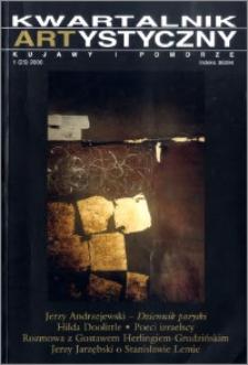 Kwartalnik Artystyczny : Kujawy i Pomorze 2000 nr 1(25)