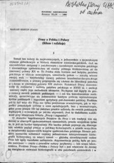 Prusy a Polska i Polacy : (bilans i refleksje)