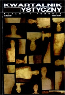 Kwartalnik Artystyczny : Kujawy i Pomorze 2000 nr 2(30)
