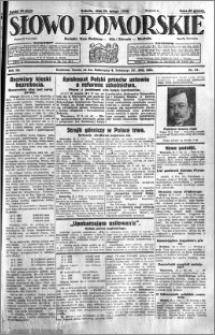 Słowo Pomorskie 1932.02.20 R.12 nr 41