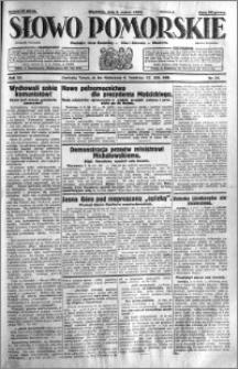 Słowo Pomorskie 1932.03.06 R.12 nr 54