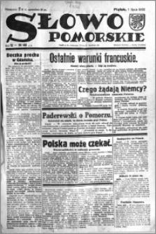 Słowo Pomorskie 1932.07.01 R.12 nr 148
