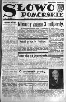 Słowo Pomorskie 1932.07.10 R.12 nr 156