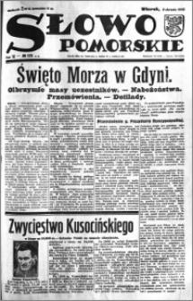Słowo Pomorskie 1932.08.02 R.12 nr 175