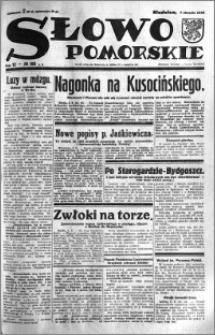 Słowo Pomorskie 1932.08.07 R.12 nr 180