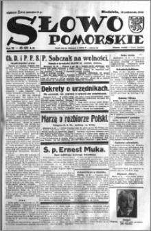 Słowo Pomorskie 1932.10.16 R.12 nr 239
