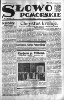 Słowo Pomorskie 1932.11.01 R.12 nr 252