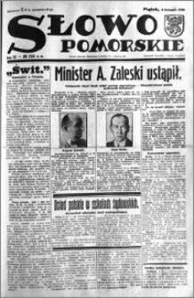 Słowo Pomorskie 1932.11.04 R.12 nr 254