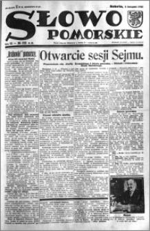 Słowo Pomorskie 1932.11.05 R.12 nr 255