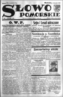 Słowo Pomorskie 1932.11.06 R.12 nr 256