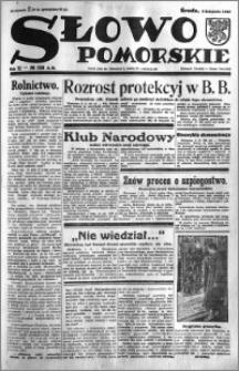 Słowo Pomorskie 1932.11.09 R.12 nr 258