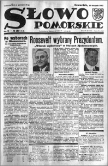 Słowo Pomorskie 1932.11.10 R.12 nr 259