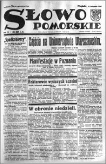 Słowo Pomorskie 1932.11.11 R.12 nr 260